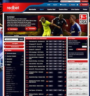 Redbet Website